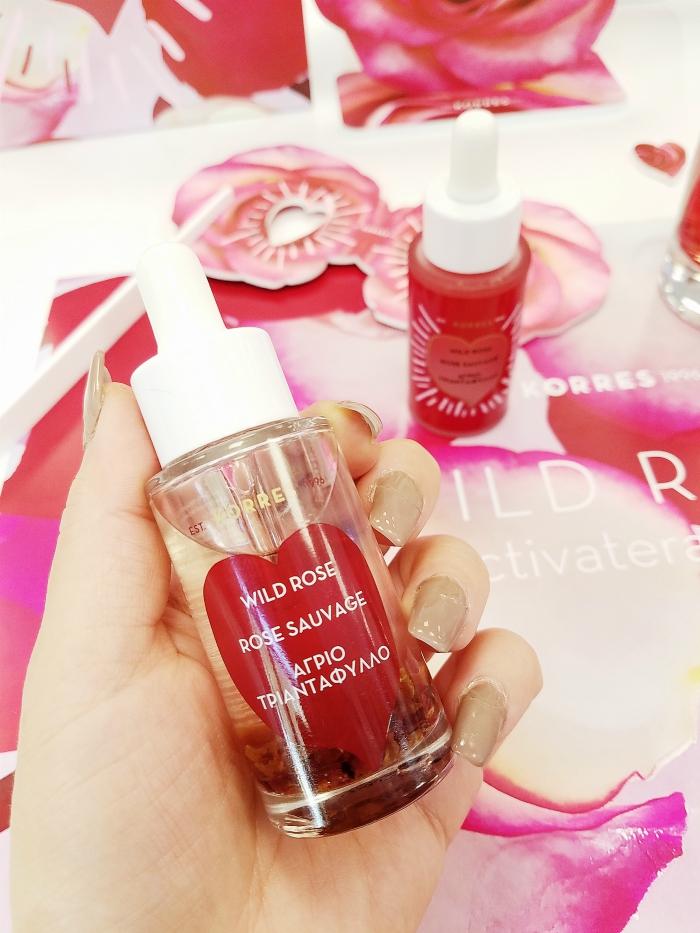 KORRES Wild Rose Deutschland Re-Launch mit neuen Produkten - Gesichtsöl
