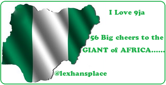 Nigeria @ 56 FOR LEXHANSPLACE