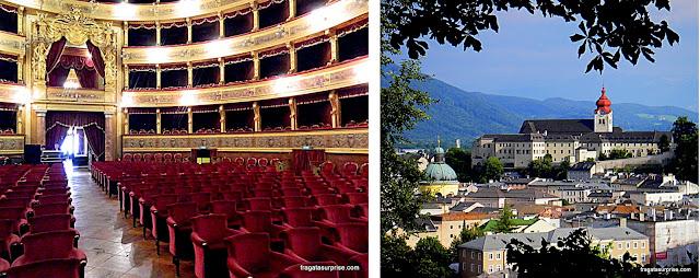 Viagens inspiradas em filmes - Teatro Máximo, Palermo, Itália (O Poderoso Chefão) e o Convento do Nonnberg, Salzburgo, Áustria (A Noviça Rebelde)