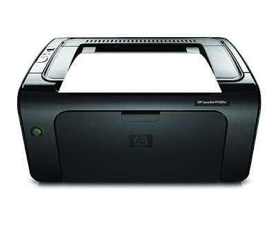 Network the printer without extra cables HP LaserJet Pro P1109w Driver Downloads