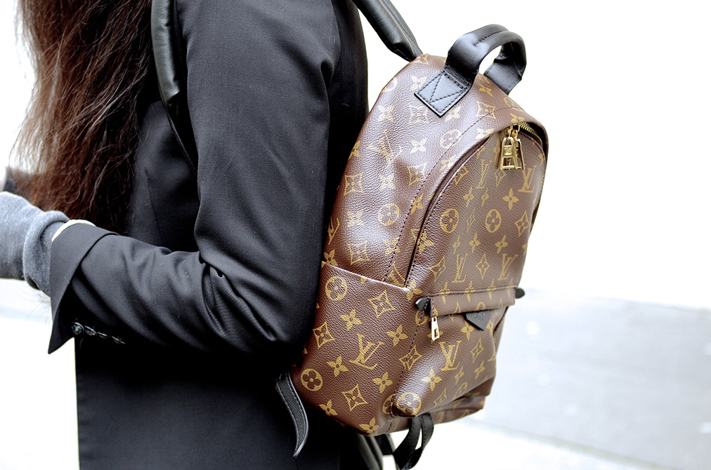 Elizabeth l Monogram backpack l THEDEETSONE l http://thedeetsone.blogspot.fr
