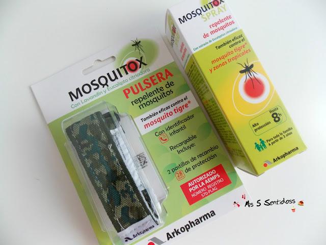 Mosquitox Spray y Pulsera