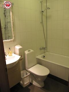 Baño de Habitación doble del Húsavík Cape Hotel