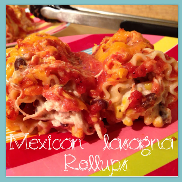 Working on My Forever: Mexican Lasagna Rollups!