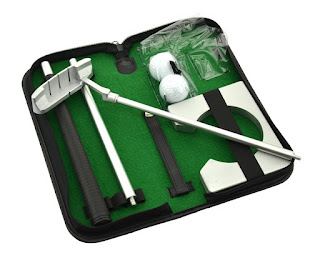 Portable Putter Set Practice Kit
