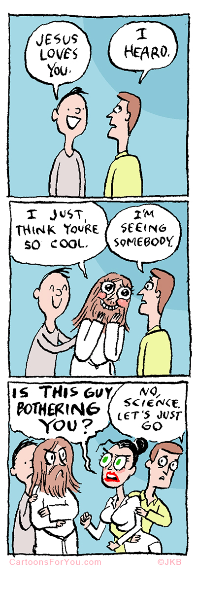 Jesus Loves You Cartoon Picture