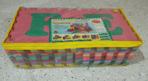 Save Toys Alphabet Puzzle Mat