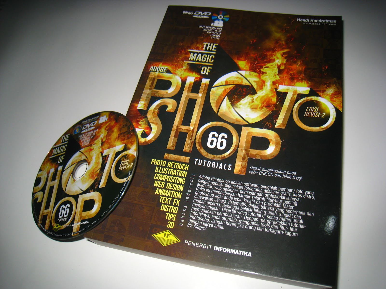 ... lengkap | Buku Editing Photoshop | THE MAGIC OF ADOBE PHOTOSHOP
