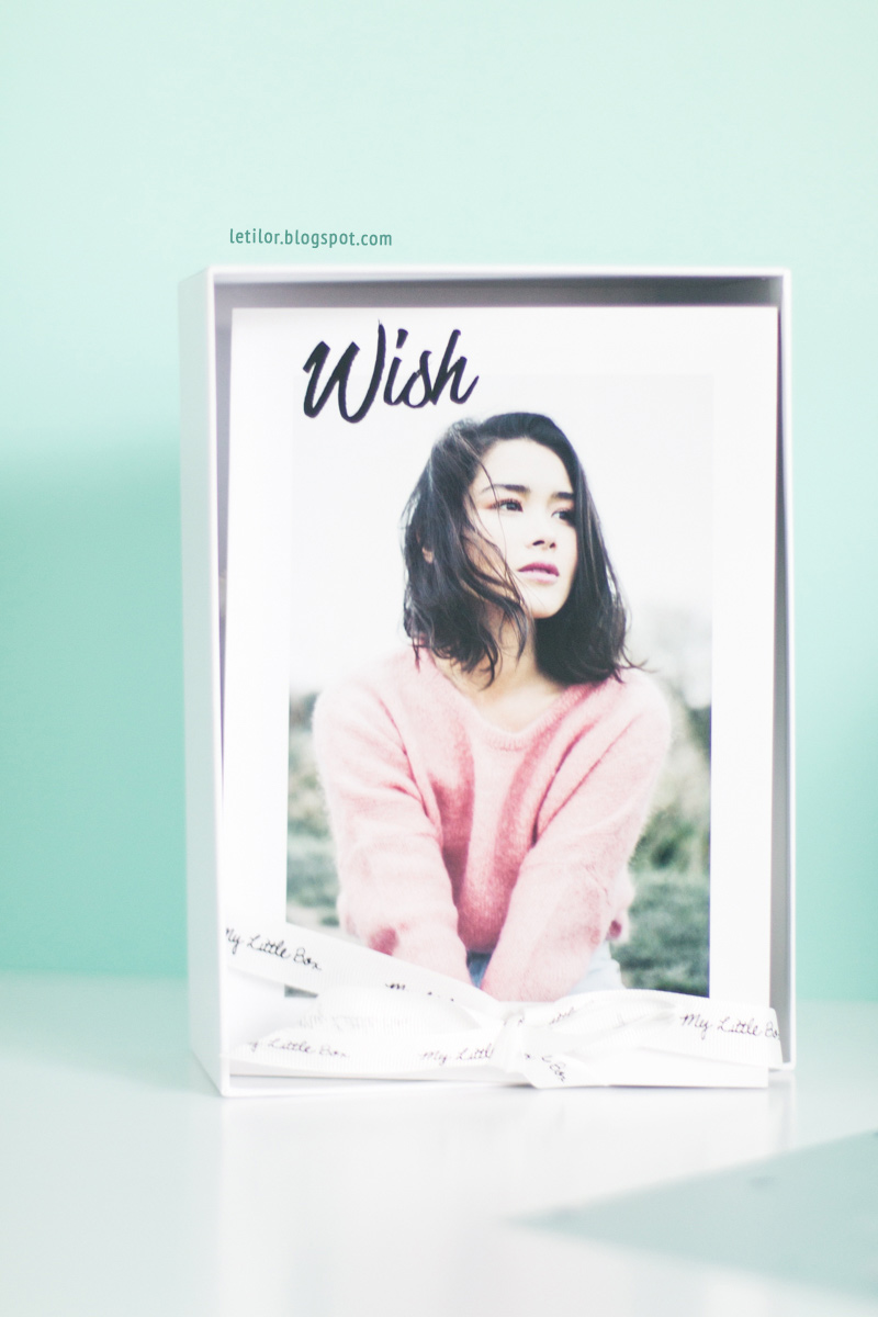 My little wish box , la my little box janvier 2016