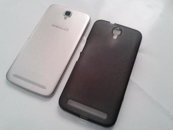 Alcatel OneTouch Flash Plus with 3rd party rubber case