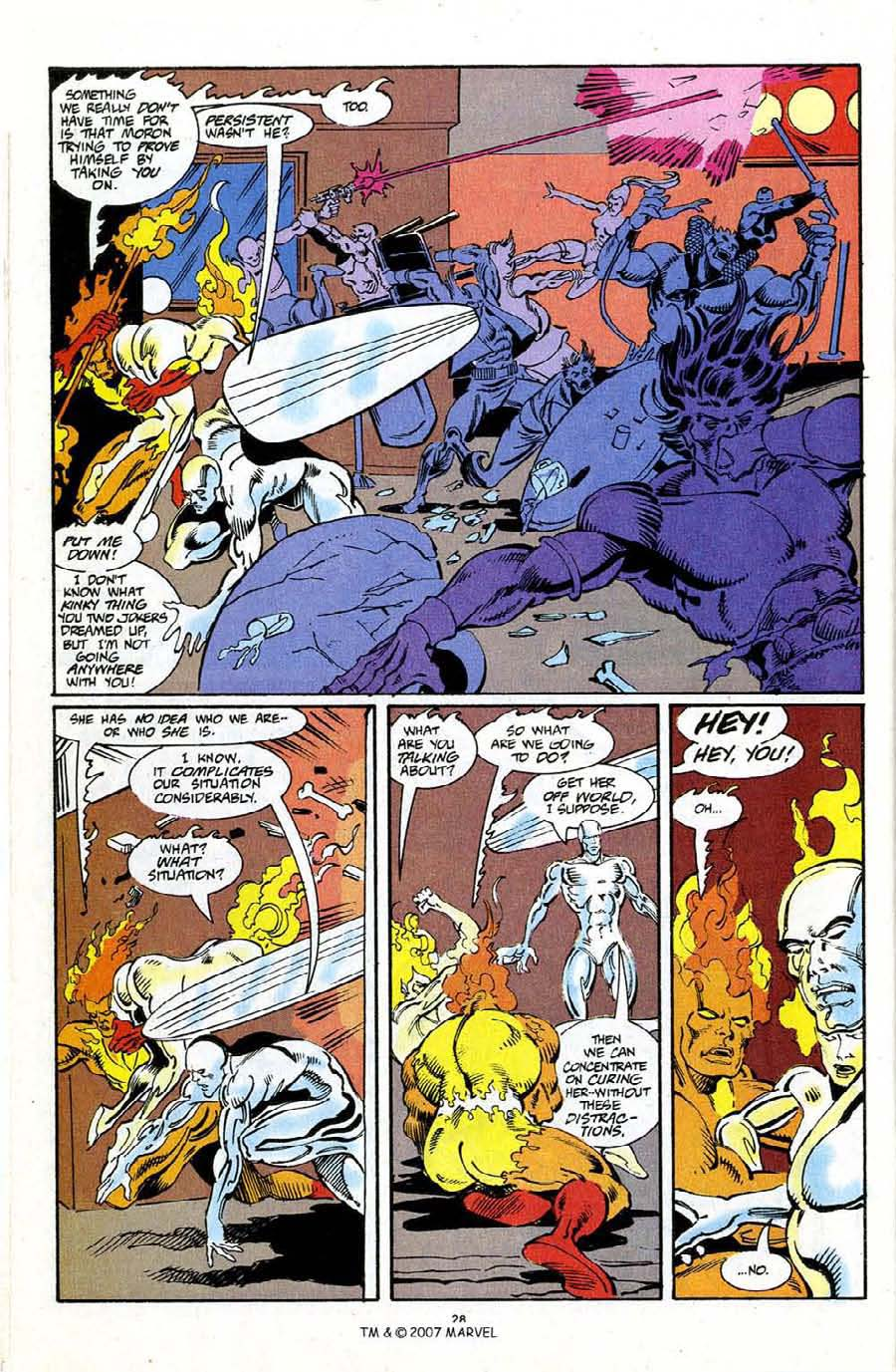 Read online Silver Surfer (1987) comic -  Issue #72 - 30