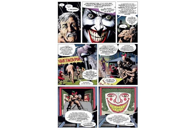 Reseña cómic Batman la broma asesina