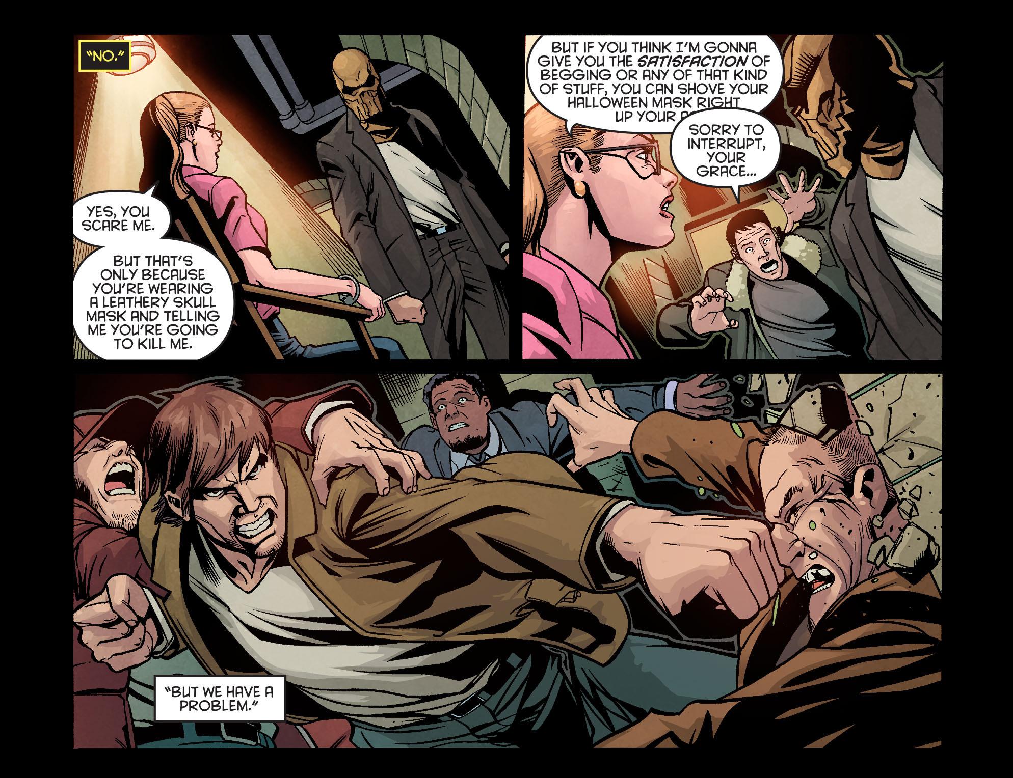 Read online Arrow: Season 2.5 [I] comic -  Issue #9 - 17