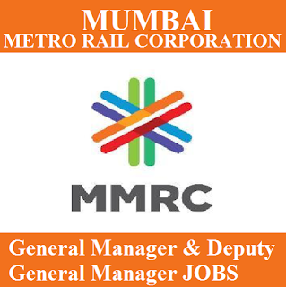 Mumbai Metro Rail Corporation Limited, MMRCL, Maharashtra, General Manager, Graduation, freejobalert, Sarkari Naukri, Latest Jobs, mmrcl logo