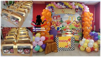 Paket cupcake box untuk Ulang Tahun di McD