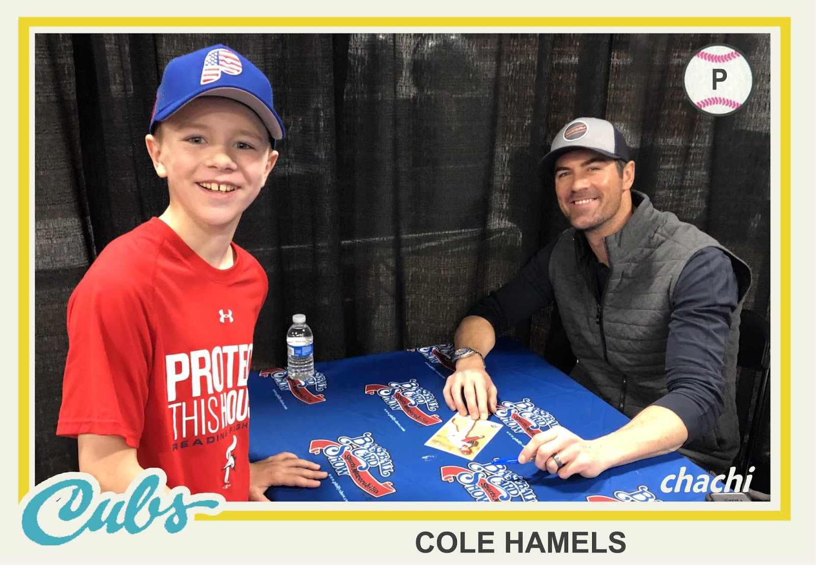 The Phillies Room Philly Baseball Card Show Report Hamels Stairs
