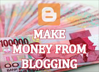 Panduan Cara menghasilkan uang dari blog