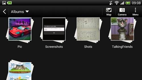 menyembunyikan foto dan video