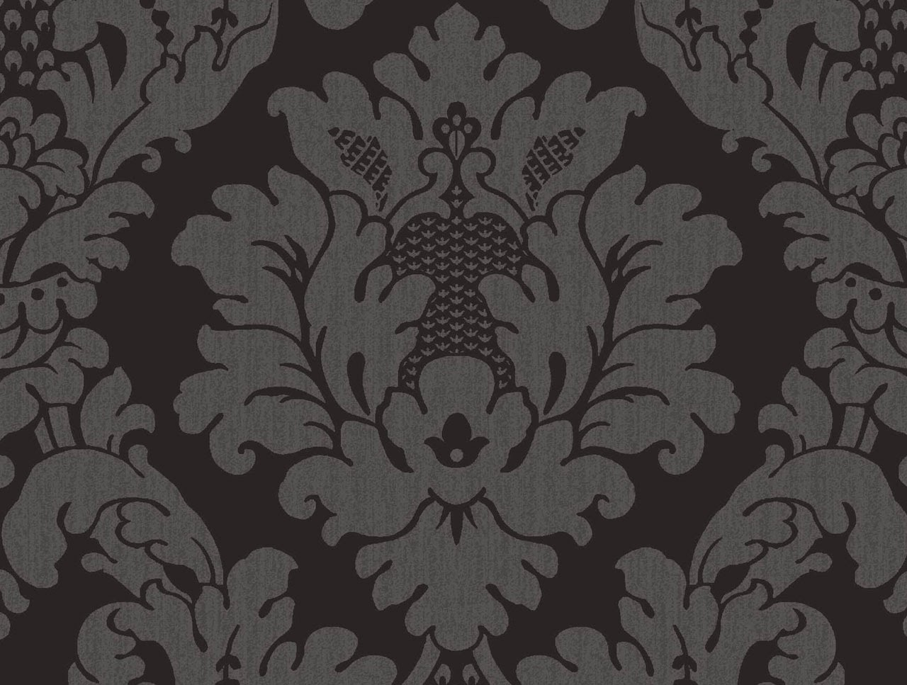 Black Damask Wallpaper ~ WallpaperYork   Brows your wallpaper here   Best quality wallpapers