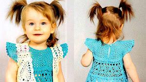 Vestido y bolero para nenas / Patrones y paso a paso