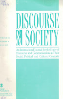 coperta revista Discourse and society