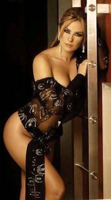Aracely Arambula..mostrando sus sexy curvas