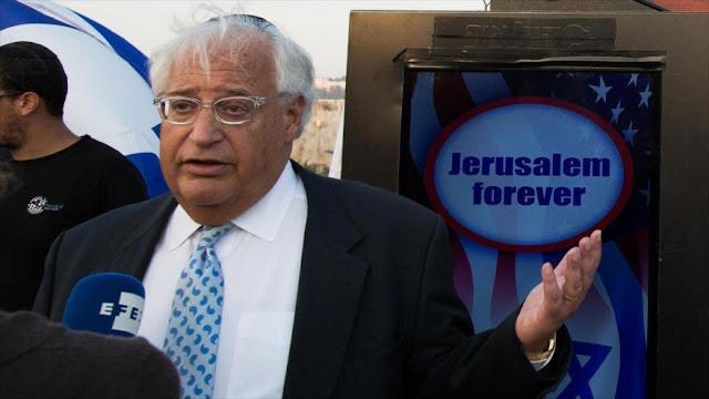Embajador de Trump en Israel ansioso de instalarse en Al-Quds