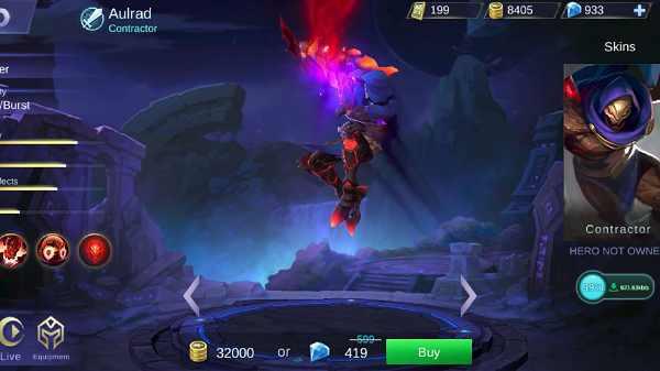 Guide Aulrad Mobile Legend, Build, Skill, Ability, Set Emblem Yang Cocok, Hingga Tips Menggunakannya