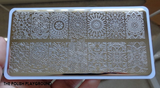 Born Pretty Store Stamping Plate BP-L052 Review