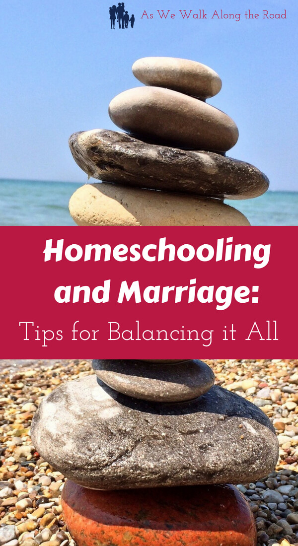 Balancing marriage and homeschooling