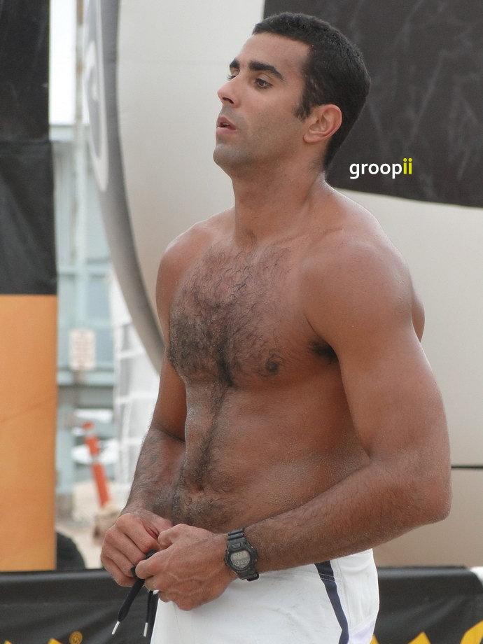 Gaston hairy chest