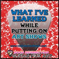 What I've learned while putting on Art shows
