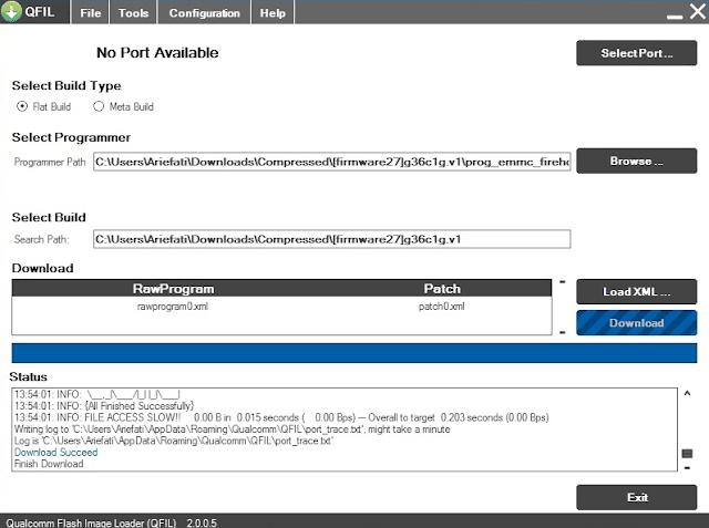 Cara Mengatasi Unbrick Andromax Qi G36C1G Detek USB 9008/9006