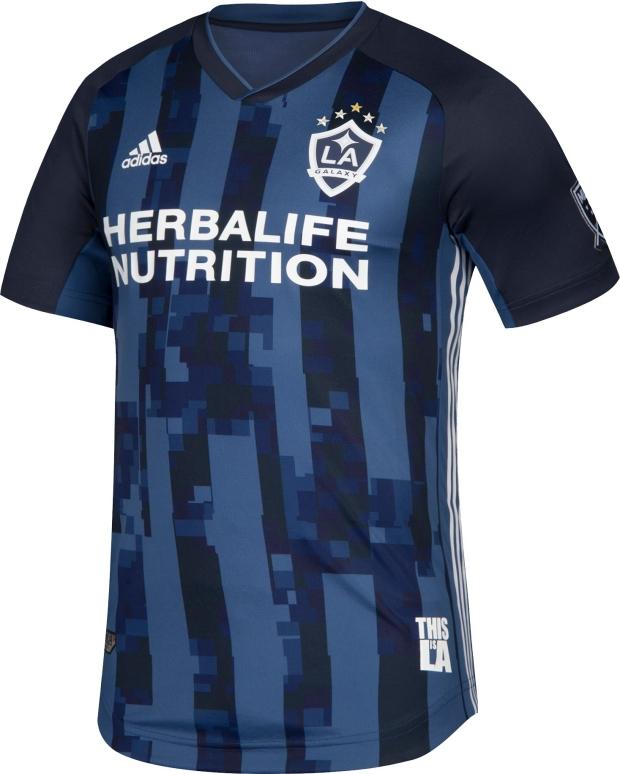 Adidas divulga a camisa reserva do LA Galaxy - Show de Camisas 3aedfb27dd542