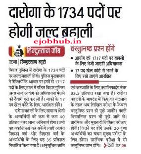 Bihar Police Recruitment biharpolice.bih.nic.in Constable, SI Jobs