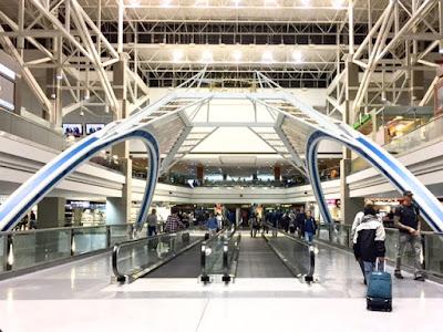 architecture inside Denver Airport