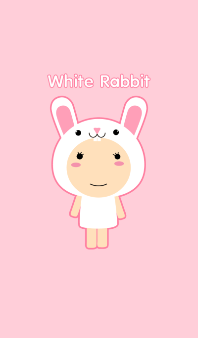 Girl White Rabbit theme