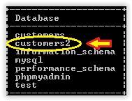 restore mySQL database