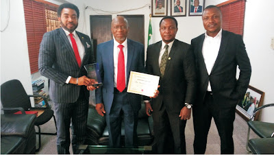 More accolades for Dr Aniekeme Uwah's distinguished service Award by NMA