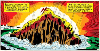 X-Men #44,  rock