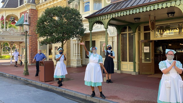 Disney Magic Kingdom Reopening Preview, Cinderella Castle, New Safety Precaution and Social-distancing Practice