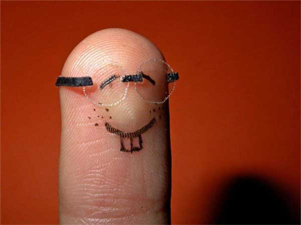Amazing And Funny Fingers Art