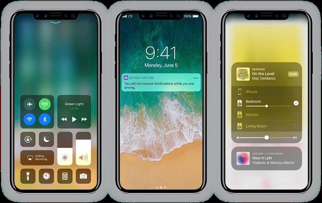 Download Tema iPhone X Mtz Full Tampilan Ios Terbaru