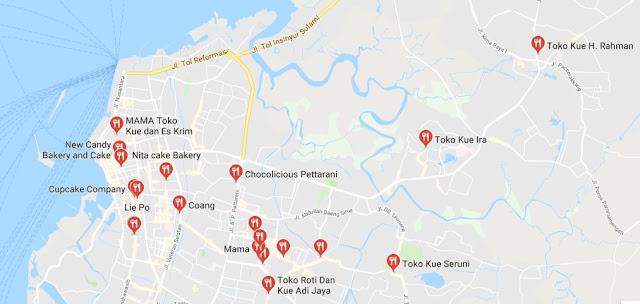 Toko Kue di Makassar