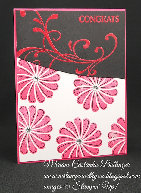Miriam Castanho-Bollinger, #mstampinwithyou, stampin up, demonstrator, dsc, all occasions card, thank you, everything eleanor, crazy about you, party pants stamp set, backyard basics, perfectly penned, big shot, backyard basics framelits, stylish stripes, word window, su