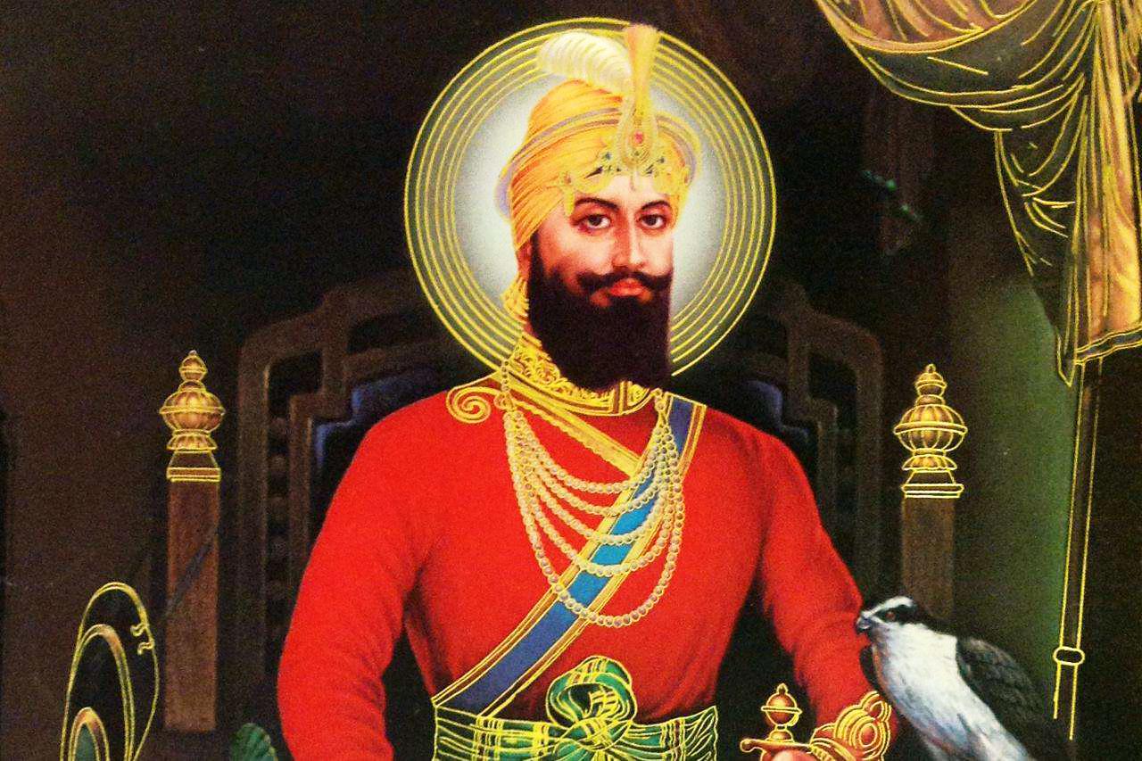 Guru Gobind Singh Ji Hd Wallpaper Download Guru Gobind Singh