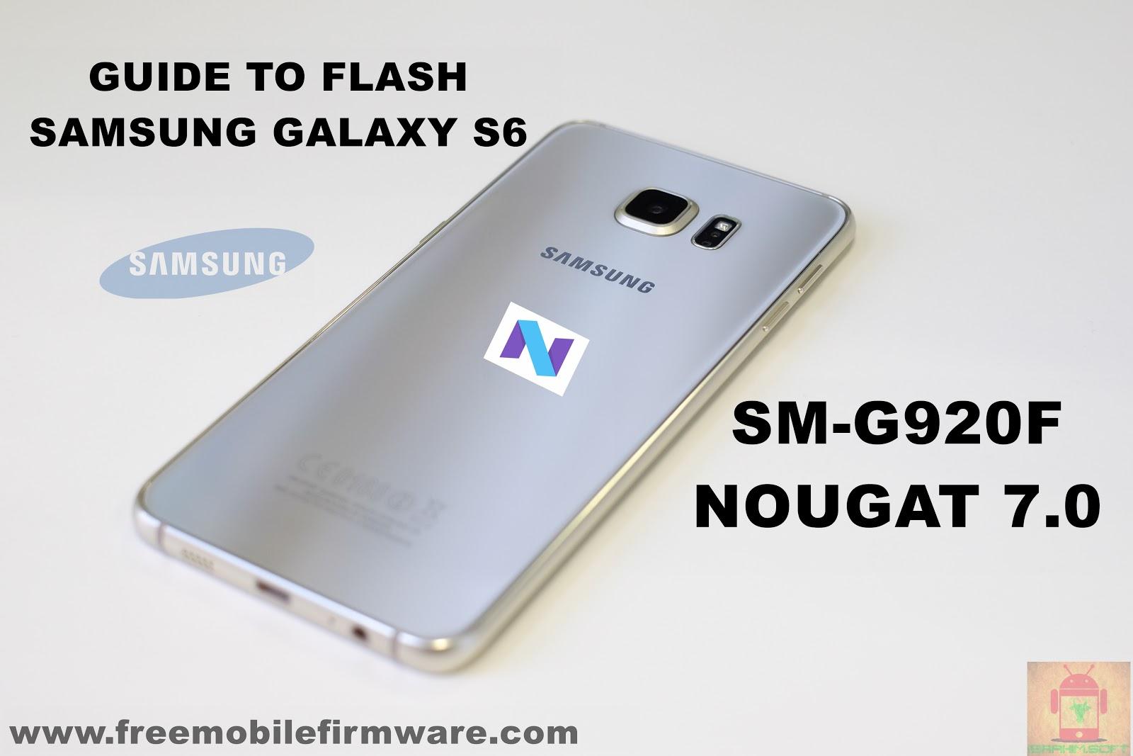 sm-g920f firmware