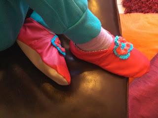 bulle et funambule chaussons