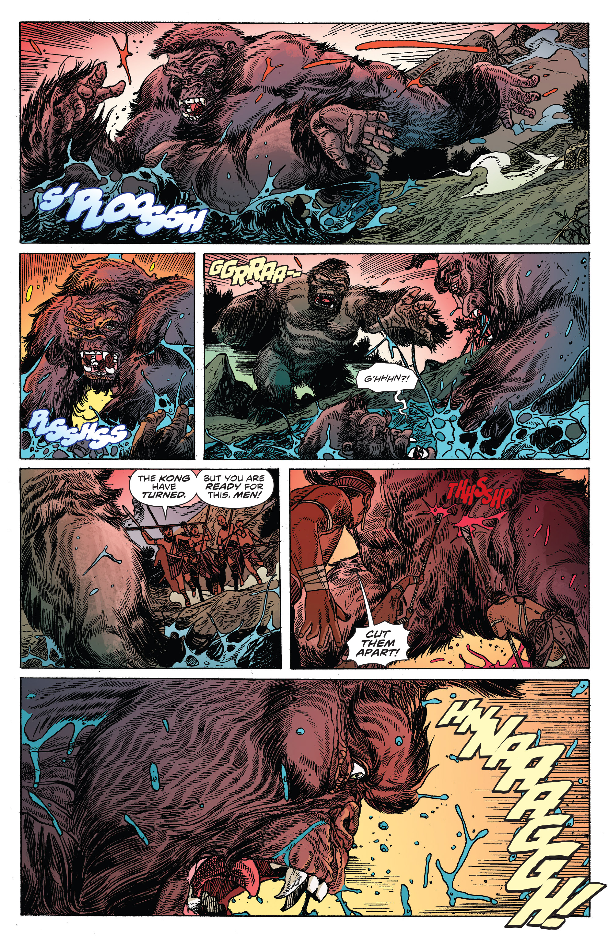 Read online Kong Of Skull Island comic -  Issue #12 - 10