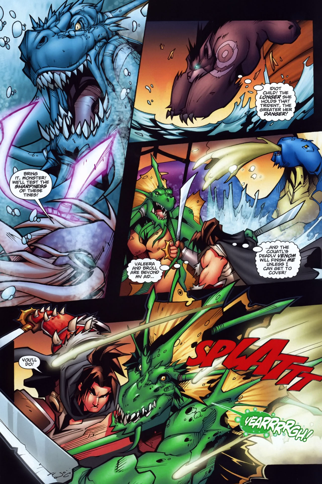 Read online World of Warcraft comic -  Issue #7 - 12